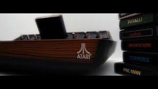 How to hook up a Atari 2600 to a mordern tv