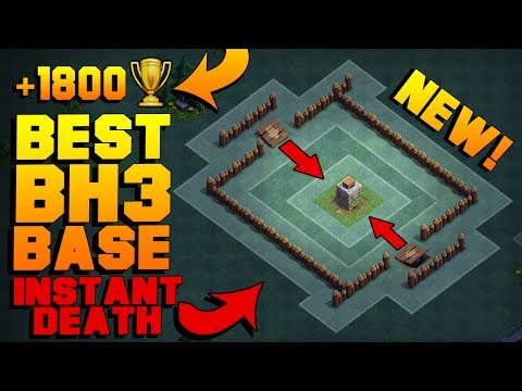 BEST Builder Hall 3 Base w/ PROOF! | NEW CoC BH3 ANTI GIANT BUILDER BASE!! | Clash of Clans