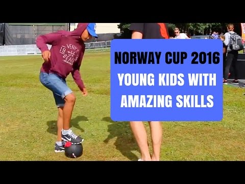 YOUNG KIDS WITH AMAZING SKILLS - AZUN Freestyle Football NORWAY CUP 2016