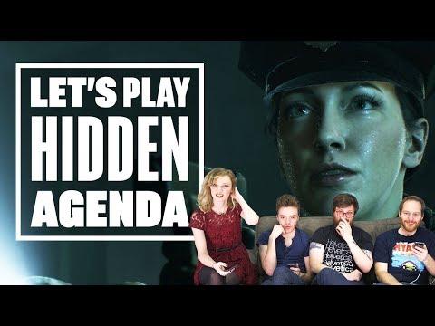 Let's play Hidden Agenda (Part 1) - IAN KILLS HIS OWN PARTNER