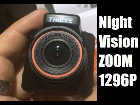 ThiEYE Dash Camera NIGHT VISION 1296P And ZOOM FULL REVIEW