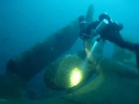 MS Altair, WWII wreck in Norway!