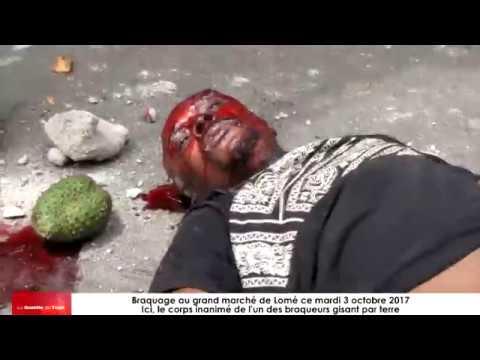 Braquage au grand marché de Lomé : Encore des pertes en humaines des innocents et de 2 braqueurs