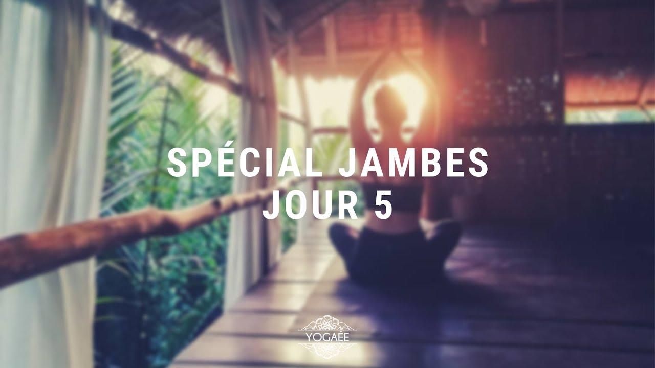 Réveil Yoga Challenge - Jour 5 - Spécial Jambes