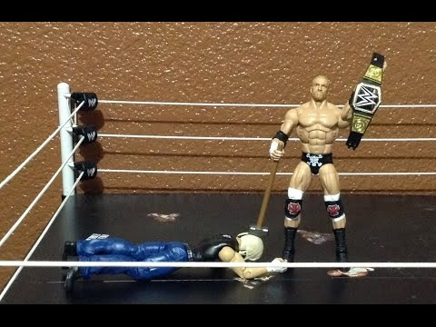 WRESTLEMANIA 32 ELITE TRIPLE H | WWE MATTEL ELITE ACTION FIGURE REVEIW