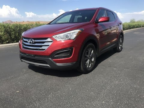 EASY AND FAST FINANCING ! CALL NOW!  2013 Hyundai Santa Fe AWD / 4WD Low Miles ! 4dr Sport...