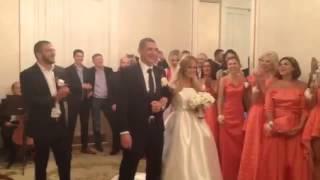 ЭКСКЛЮЗИВ! Свадьба Ксении Бородиной и Курбана Омарова.  ВИДЕО ИЗ ЗАГСА!