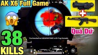 [PUBG Mobile] Thử Thách SOLO SQUAD Sấy AK X6 Không Kéo Về X3 | Lập Luôn Kỷ Lục Thế Giới Mùa 9