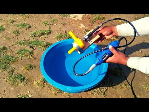 Die Grinder Water Pump How To Make Water Pump With Pin Grinder Diy Pump