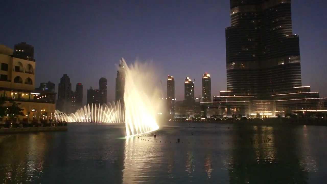 Дубай поющий фонтан видео продаю дома в дубае