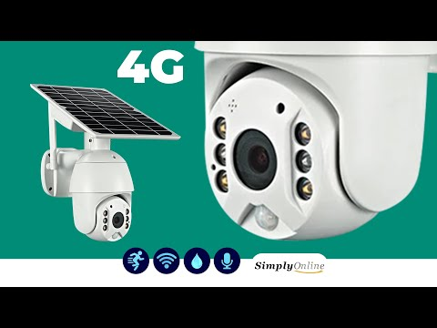 How to Connect 4G Solar PTZ Camera