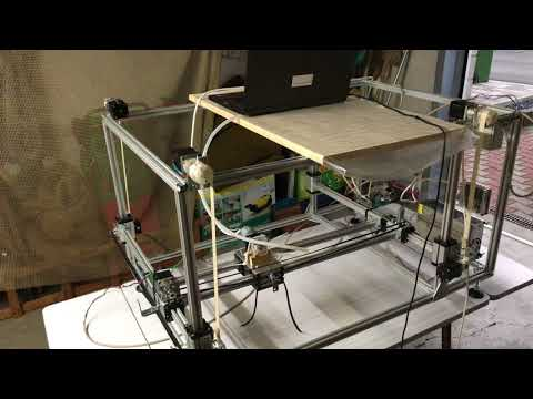 Modular Concrete 3D Printer