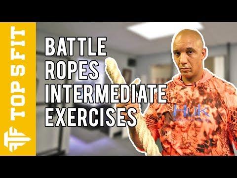 Intermediate Battle Rope Exercises