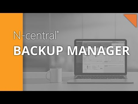 Providing fast data backup and fast data recovery with N-central RMM