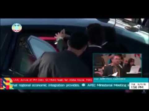 Rambut Rosmah Mansor Tersangkut Pada Pintu Kereta