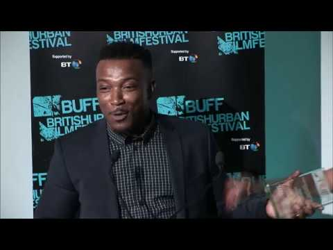 Ashley Walters receives the BUFF Honorary Award - The British Urban Film Festival Awards: 2017