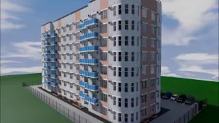 Проект восьмиэтажного многоквартирного дома