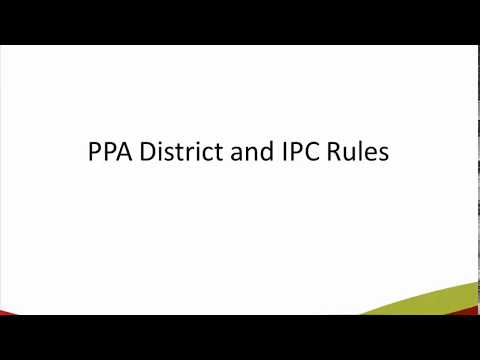 International Photographic & District Competition Rules
