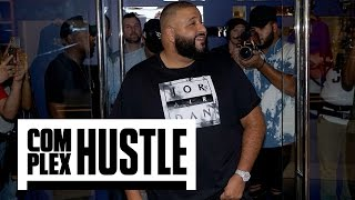 Exclusive: Inside DJ Khaled's Private Champs Store Opening Video