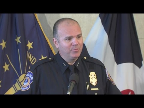 WATCH: IMPD chief Troy Riggs announces he's leaving position