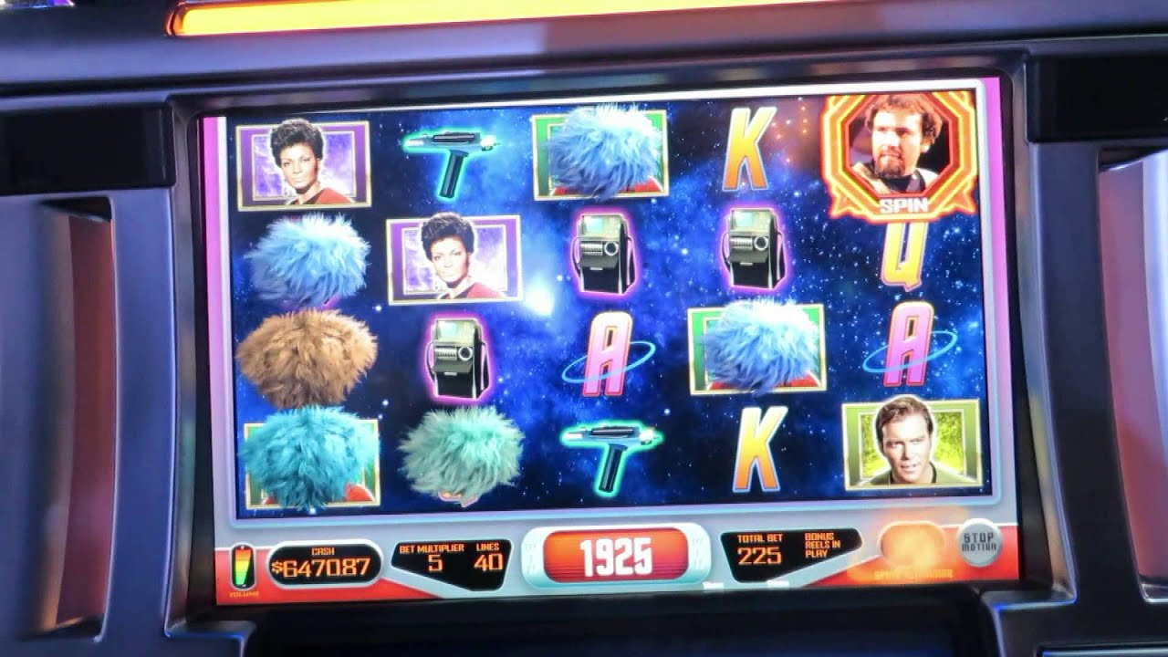 star trek slot machine locations