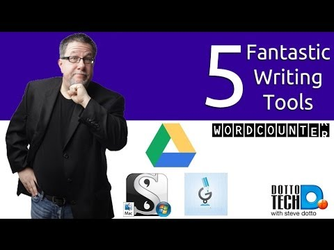 5 Fantastic Writing Tools