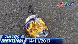 Tai nạn đau lòng vì… lon bò húc | TIN TỨC MEKONG - 14/11/2017