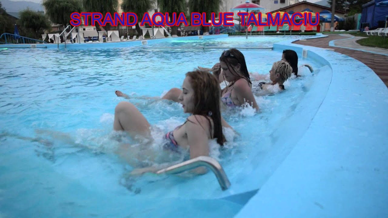 Strand Aqua Blue Talmaciu By Video Center Sibiu Youtube