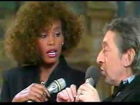 Serge Gainsbourg says Je T'aime to Whitney Houston
