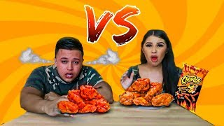 SPICY VS EXTREME SPICY FOOD CHALLENGE!!! (DO NOT TRY THIS AT HOME)