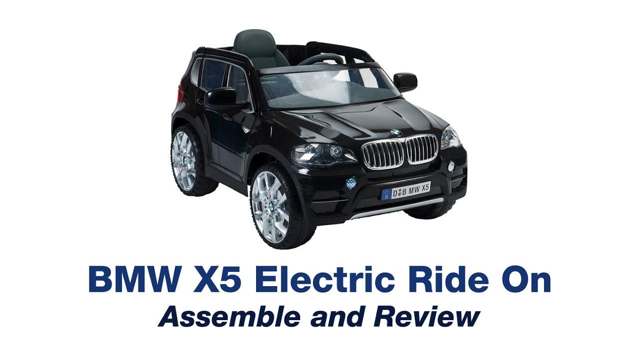bmw x5 electric car ride on review and assemble surprise. Black Bedroom Furniture Sets. Home Design Ideas