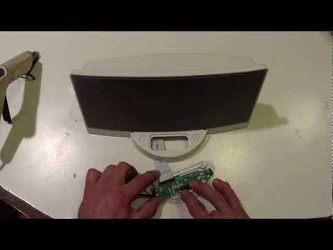 How-To: Bose SoundDock LINE IN Hack AUX IN Modification NO iPOD NEEDED !!