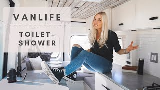VAN LIFE | Toilet, Shower & Laundry