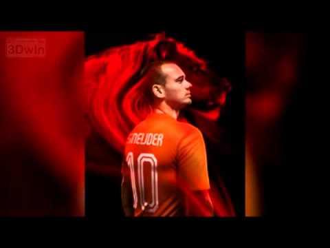 La nueva camiseta de Holanda para el Mundial Brasil 2014