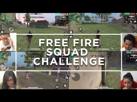 FREE FIRE SQUAD CHALLENGE