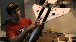 HobbyKing BUILD VIDEO - FlyCat EDF Foam Jet VERY FAST (kit only)
