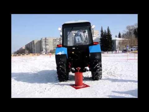 Гонки на тракторах в Бердске
