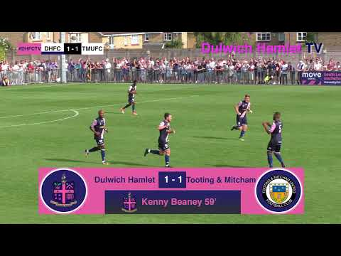 Dulwich Hamlet 2-1 Tooting & Mitcham, Bostik League Premier Division, 28/08/17 | Match Highlights