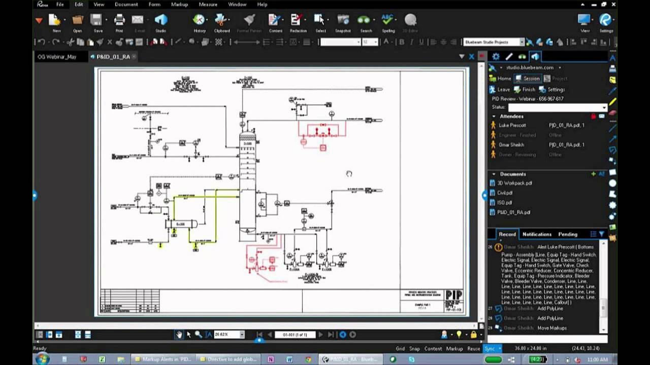 Bluebeam Revu For Oil Gas Youtube Piping Instrumentation Diagram P Id Tutorial