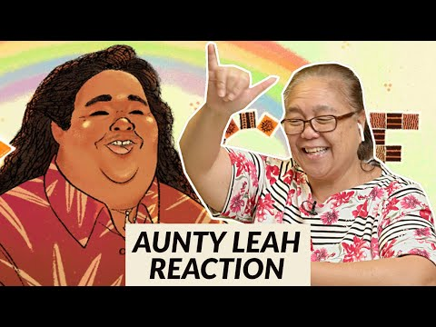 Elder Hawaiian Reacts To Israel Kamakawiwoʻole's 61st Birthday - Google Doodle   Aunty Leah Reaction