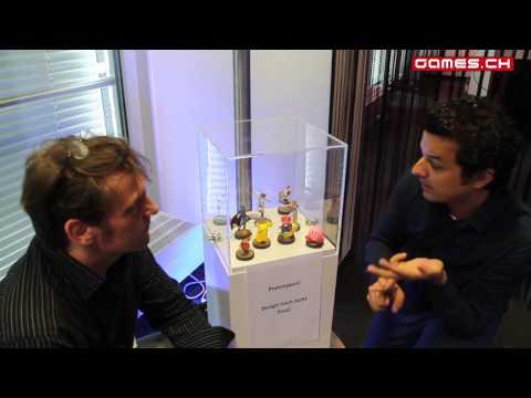 Die Amiibo-Figuren - Interview mit Nintendo (DE - Post-E3-Event Frankfurt)