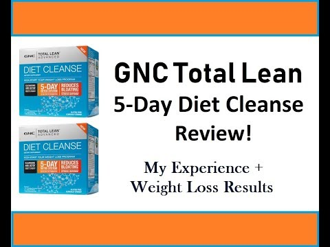 GNC TL 5 day diet cleanse Review! (+ Weight Loss Results)