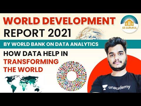 World Development Report 2021 by World Bank on Data analytics | Tarkeshwar Jain