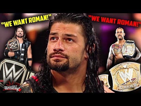 CM Punk's WWE Title Record BROKEN By AJ Styles?! (Roman Reig
