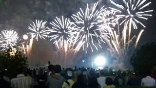 Dr Ahsan Choudhary 42 UAE National Day Celebrating in  Abu Dhabi Fireworks