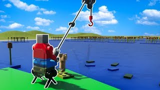 AWESOME LEGO FISHING TRIP! Fun Lego User Creations! - Brick Rigs Gameplay Roleplay (Kid Friendly)