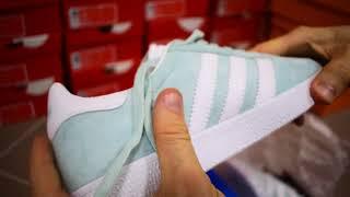 Adidas Gazelle обзор кроссовки женские мятные адидас газели