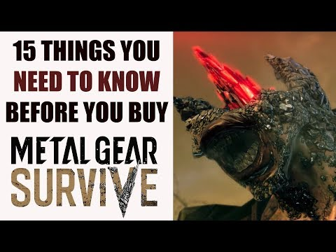 Metal Gear Survive - 15 Things You ABSOLUTELY NEED To Know Before You Buy