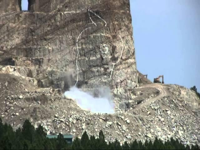 Crazy Horse Memorial Blast August 8, 2014