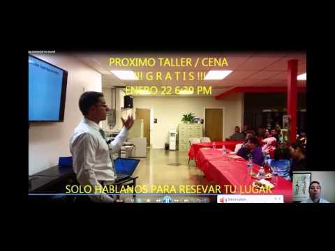 Spanish Taller y CENA 22 de Enero